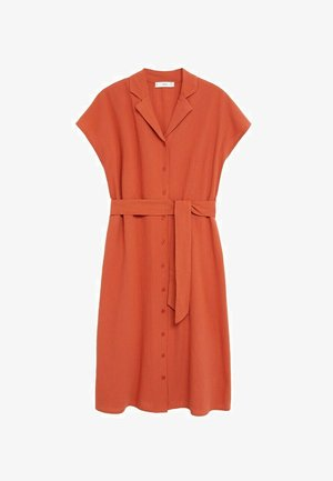 NUDO-H - Shirt dress - burnt orange