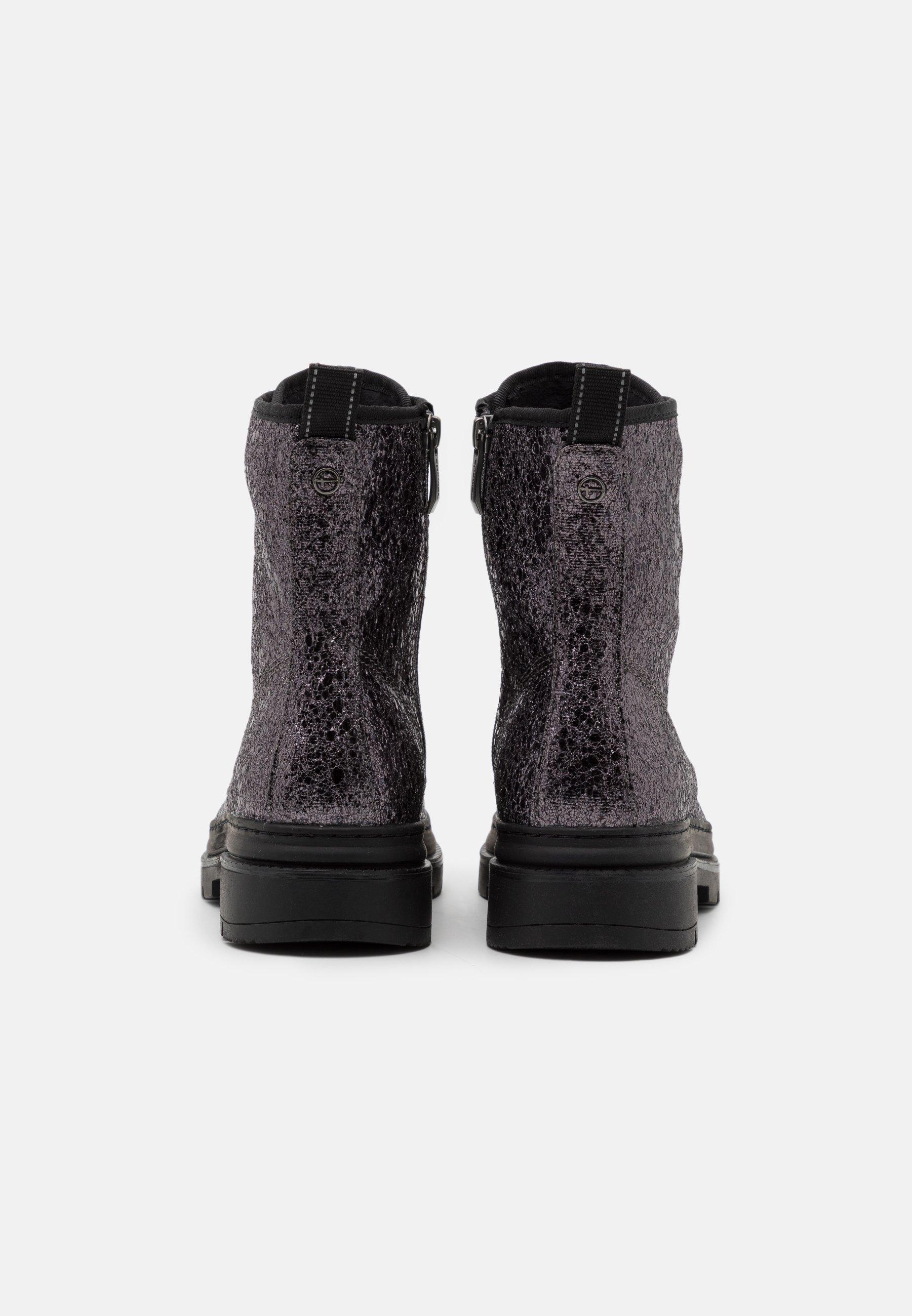 Tamaris Boots - Schnürstiefelette Pewter/silber