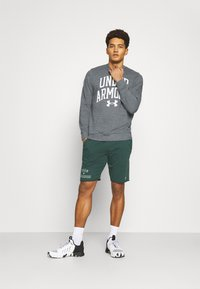 Under Armour - RIVAL CREW - Sweatshirt - pitch gray full heather - 1
