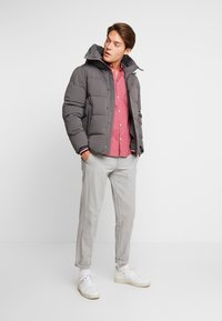 Tommy Hilfiger - STRETCH HOODED - Winter jacket - grey - 1