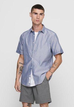 Shirt - majolica blue