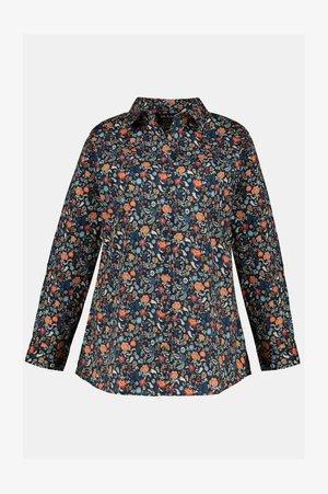 Button-down blouse - bleu marine
