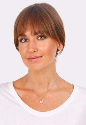 PLATE HAMMERED - Necklace - rose gold-coloured