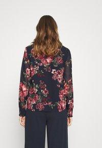 Vero Moda - VMNEWSUNILLA - Button-down blouse - navy blazer - 2