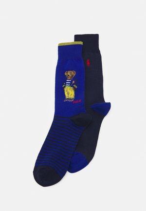 BLEND BEAR 2 PACK - Socks - sapphire star