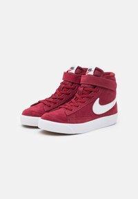 Nike Sportswear - BLAZER MID '77 UNISEX - Sneakers hoog - team red/white/black - 1