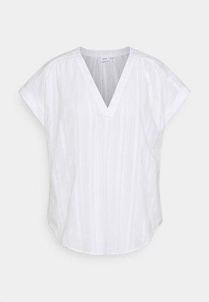T-shirts med print - optic white