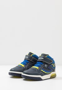 Geox - INEK BOY - High-top trainers - navy/lime - 2
