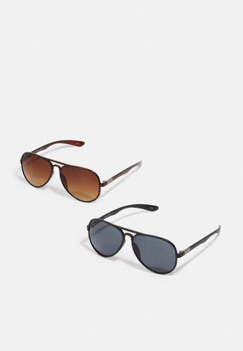 JACAVIATAS SUNGLASSES 2 PACK - Sunglasses - black/brown
