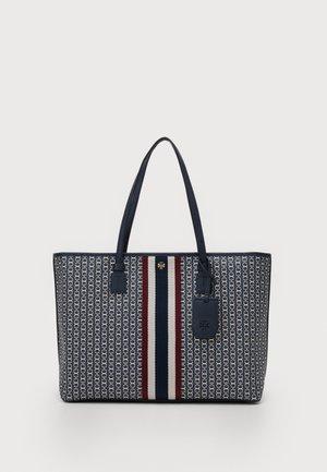 GEMINI LINK ZIP TOTE - Shopping bag - navy