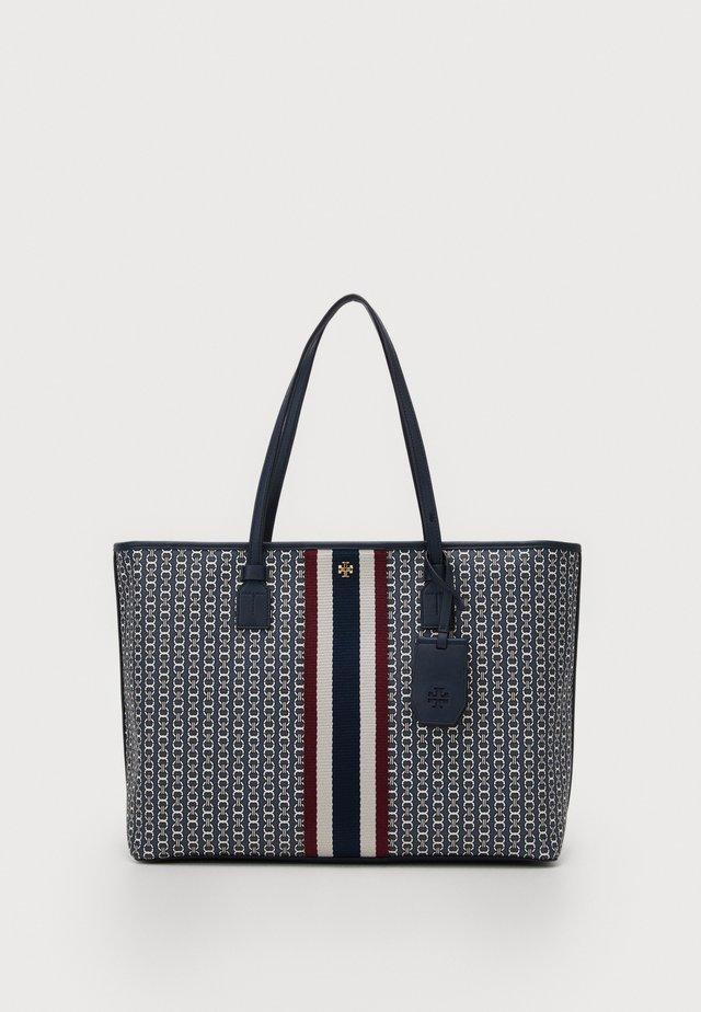 GEMINI LINK ZIP TOTE - Handbag - navy