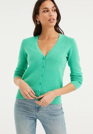 Cardigan - bright green