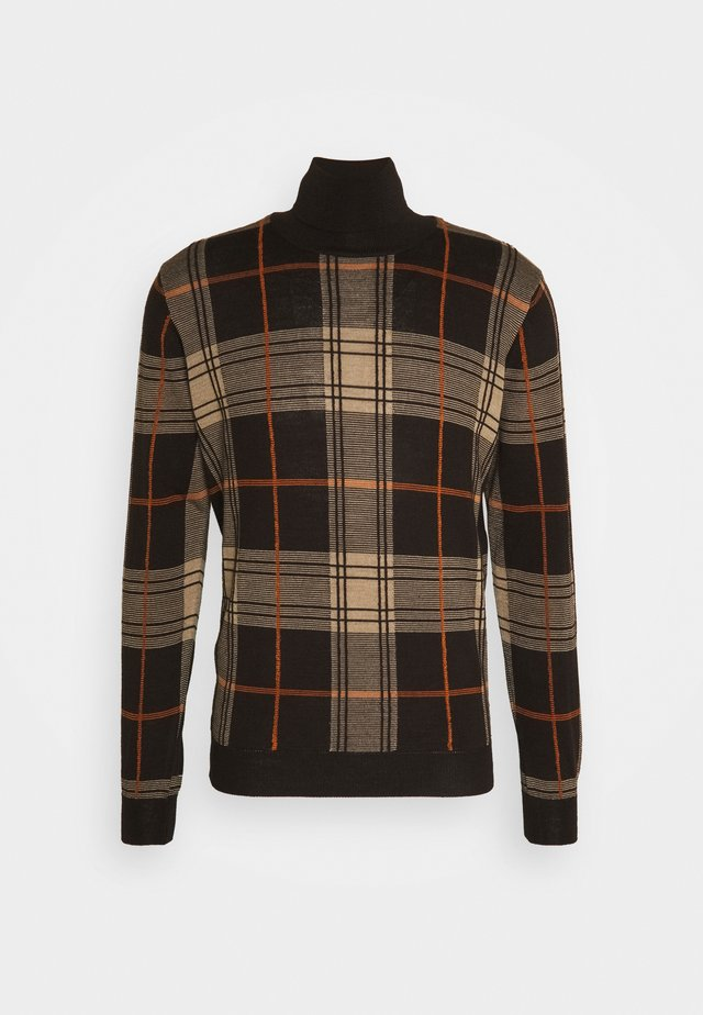 Jersey de punto - dark brown