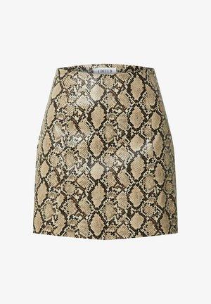 CELIA - Mini skirt - beige