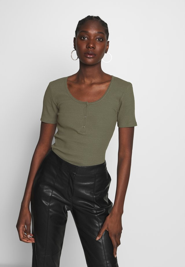ORSON - T-shirt basique - dark khaki