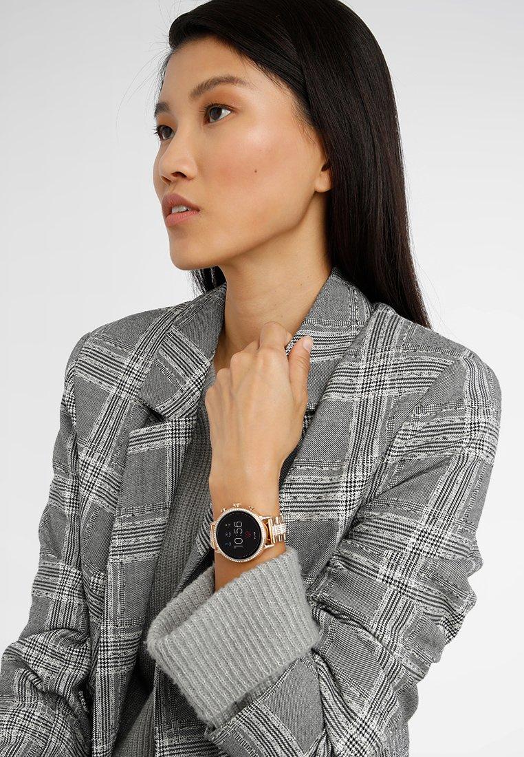 Fossil Smartwatches - Q VENTURE - Smartwatch - roségold-coloured