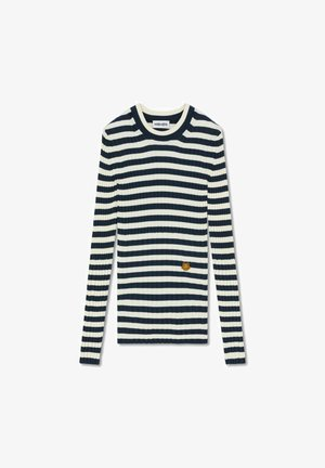 STRIBED - Jersey de punto - white