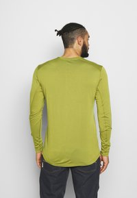 Norrøna - SVALBARD GRANDPA SHIRT - Long sleeved top - olive drab - 2
