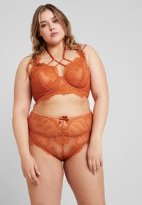 Playful Promises - MORGAN FRENCH KNICKER - Underbukse - rust - 1