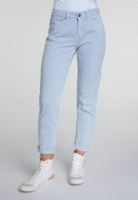 Oui - Slim fit jeans - zen blue - 0