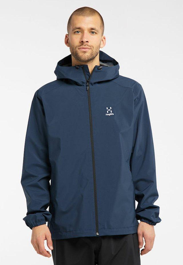 BUTEO  - Hardshell jacket - tarn blue