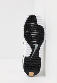 Nike Golf - JANOSKI G TOUR - Golf shoes - black/phantom/white - 4