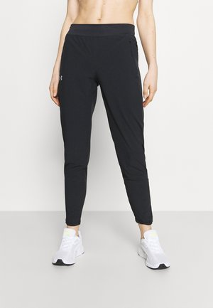 OUTRUN THE STORM PANT - Tracksuit bottoms - black