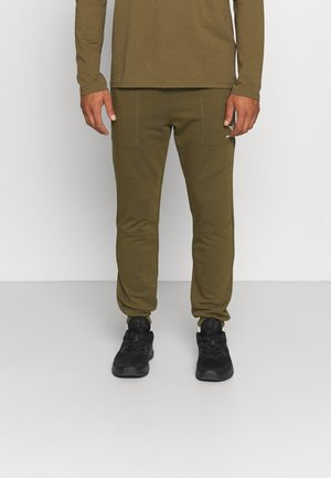 PANTS CUFF SHIELD - Teplákové kalhoty - olive green