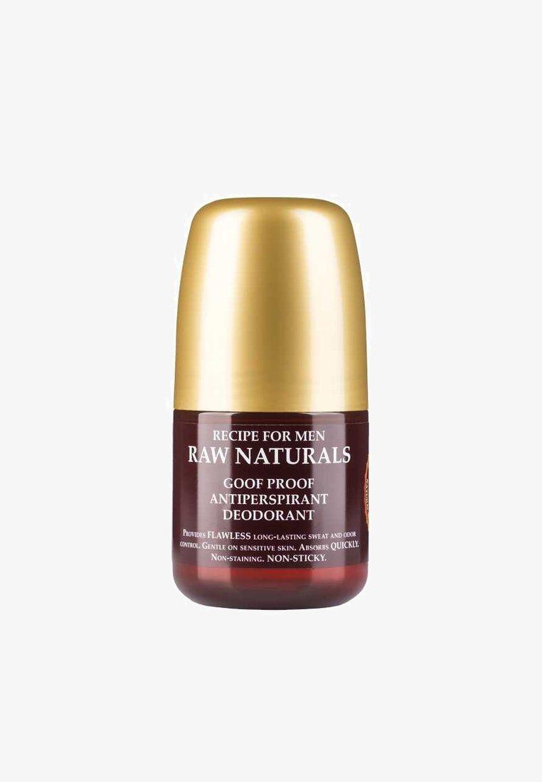 Raw Naturals - BREWING CO. GOOF PROOF ANTIPERSPIRANT DEODORANT - Deodorant - -