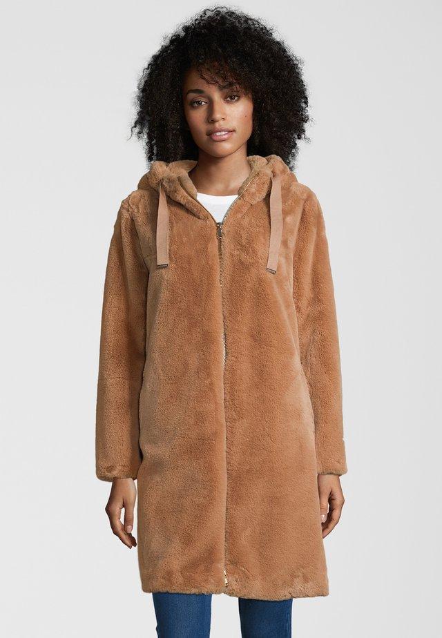 MANTEL JELENE - Winter coat - woodsmoke