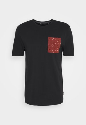 ONSMAXI LIFE POCKET TEE - T-shirt med print - black