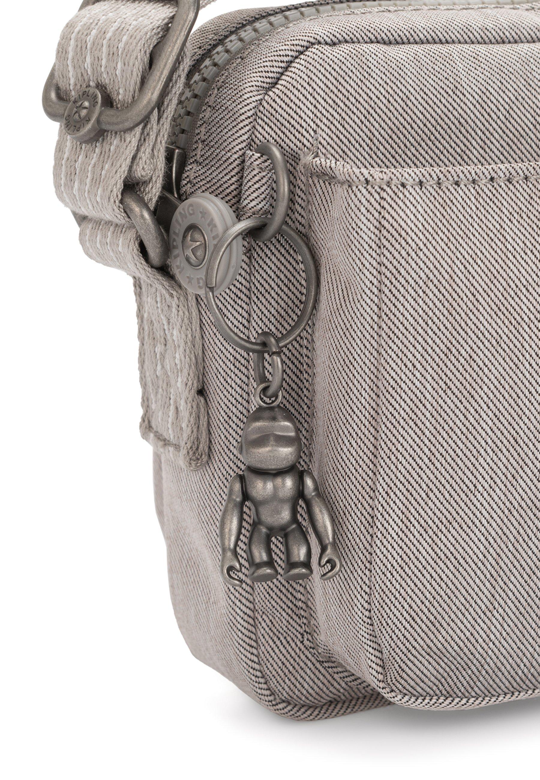 Kipling Abanu - Skuldertasker Grey Beige Pep
