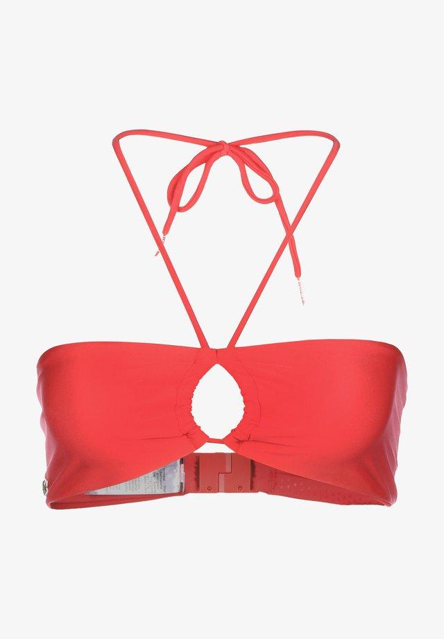 BIKINI OBERTEIL SPORTSWEAR - Bikini top - orange