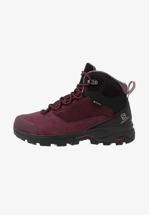 OUTWARD GTX - Hiking shoes - wine tasting/black/quail