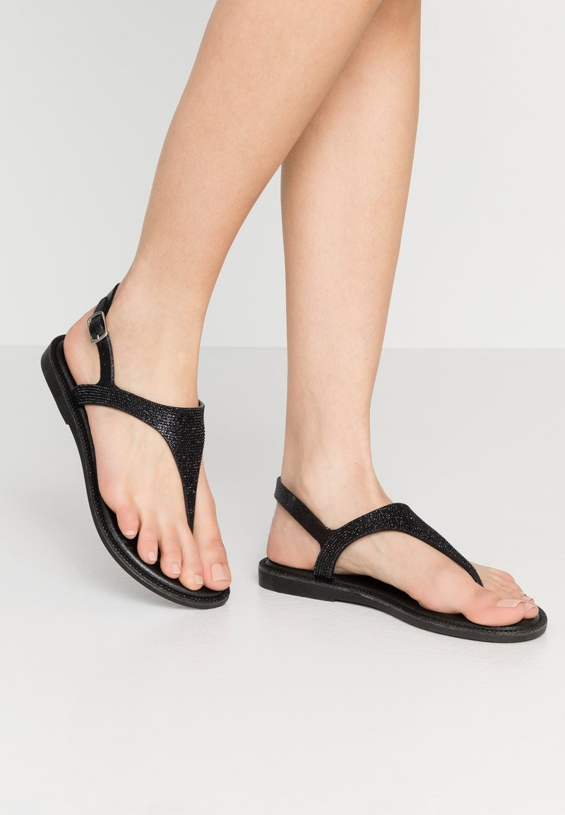 Laura Biagiotti - T-bar sandals - black