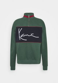 Karl Kani - SIGNATURE BLOCK TROYER - Sweatshirt - green - 4