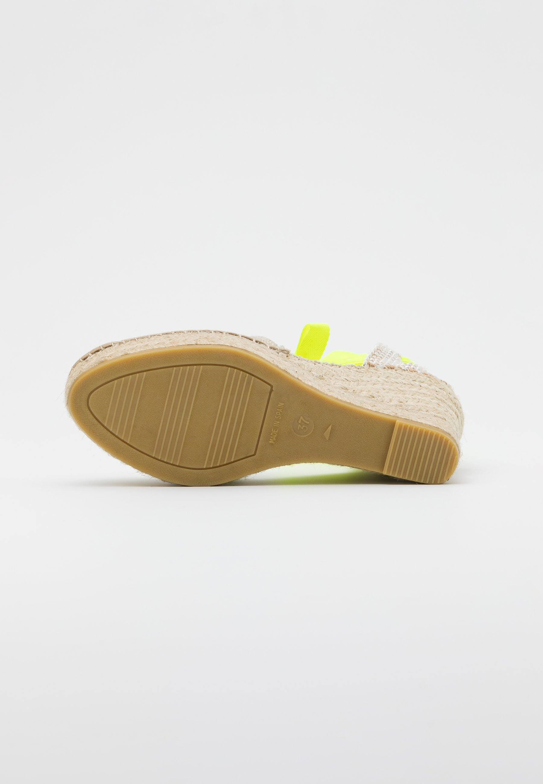 Sandaletter lino piedramensaje amaril