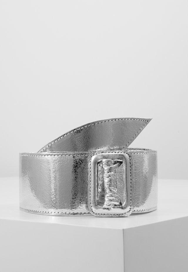 Tailleriem - silber-metallic