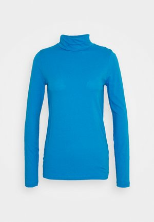 TISSUE TURTLENECK - Long sleeved top - barcelona blue