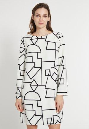 EDVIS - Day dress - schwarz-weiß