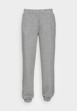 IMA PANTS - Tracksuit bottoms - mottled grey