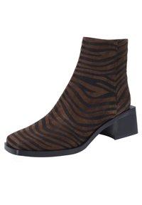 Ekonika - Ankle boots - zebra-oliv - 2