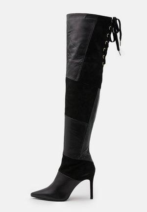 SOLE - Boots med høye hæler - nero
