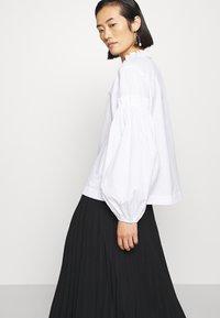 ARKET - MAXI SKIRT - A-line skirt - black dark - 3