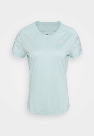 OWN THE RUN TEE - T-shirt con stampa - halo mint