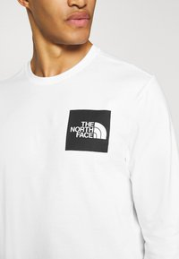 The North Face - FINE TEE  - Long sleeved top - white/ black - 5
