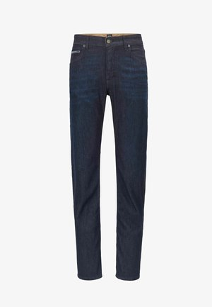 ALBANY - Relaxed fit jeans - dark blue