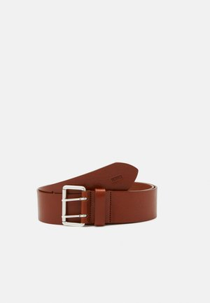 BELT DOUBLE HOLE WIDE - Cintura - pecan