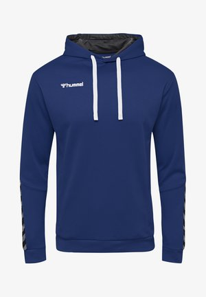 HMLAUTHENTIC - Hoodie - true blue