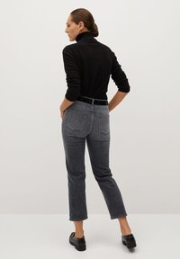Mango - PREMIUM - Jeans straight leg - open grey - 2